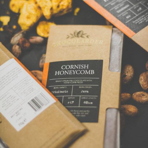Chocolarder - cornish honeycomb
