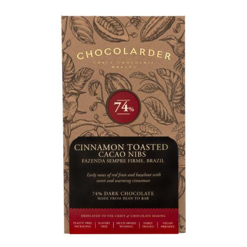 Cinnamon Toasted nibs